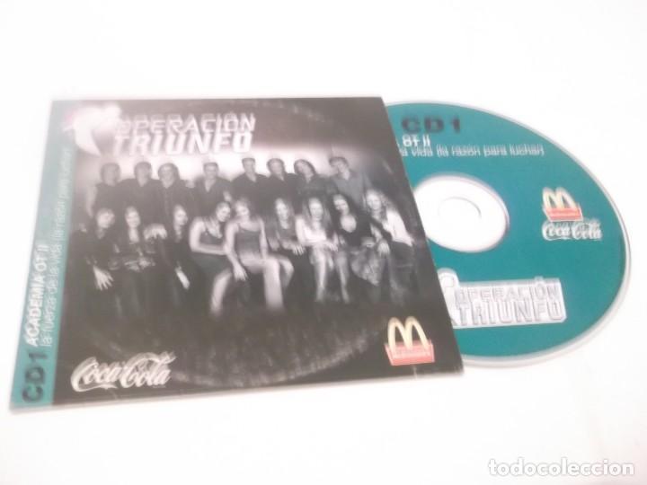 CD 1 OPERACIÓN TRIUNFO II . LA FUERZA DE LA VIDA(LA RAZÓN PARA LUCHAR ) COCA COLA MCDONALDS (Música - CD's Pop)
