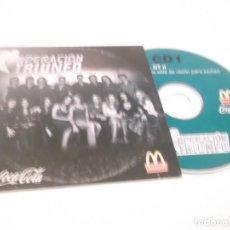 CDs de Música: CD 1 OPERACIÓN TRIUNFO II . LA FUERZA DE LA VIDA(LA RAZÓN PARA LUCHAR ) COCA COLA MCDONALDS . Lote 116687891