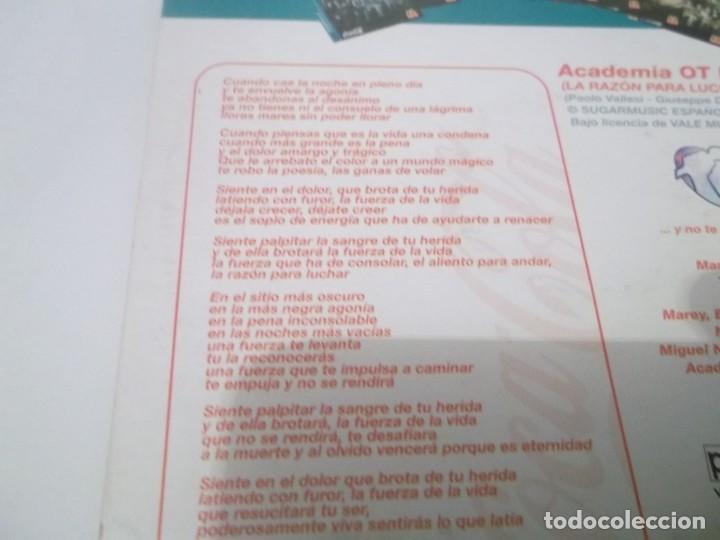CDs de Música: CD 1 OPERACIÓN TRIUNFO II . LA FUERZA DE LA VIDA(LA RAZÓN PARA LUCHAR ) COCA COLA MCDONALDS - Foto 3 - 116687891