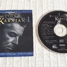 CDs de Música: CD SELECCIÓN KARAJAN - VOL. 1. Lote 116693087