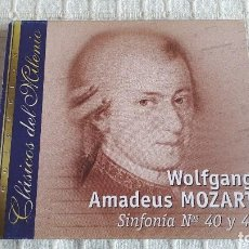 CDs de Música: CD - CLÁSICOS DEL MILENIO - WOLFANG AMADEUS MOZART - SINFONÍAS NºS 40 Y 41. Lote 116695499