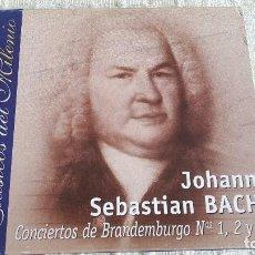 CDs de Música: CD - CLÁSICOS DEL MILENIO - JOHANN SEBASTIAN BACH - CONCIERTOS DE BRANDEMBURGO NºS 1 , 2 Y 3. Lote 116695707