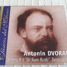 CDs de Música: CD - CLÁSICOS DEL MILENIO - SINFONÍA Nº 9 - DEL NUEVO MUNDO - , DANZAS ESLAVAS. Lote 116696467