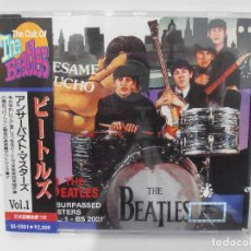 CDs de Música: CD THE BEATLES, THE CULT OF THE BEATLES, BESAME MUCHO,CON OBI, UNSURPASSED MASTERS COLLECTION, JAPON. Lote 116703835