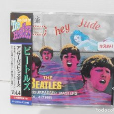 CDs de Música: CD THE BEATLES, THE CULT OF THE BEATLES,HEY JUDE, CON OBI, UNSURPASSED MASTERS COLLECTION, JAPON. Lote 116704243