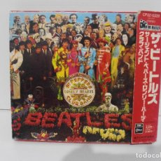 CDs de Música: CD THE BEATLES, SGT. PEPPER'S LONELY HEARTS CLUB BAND, CON OBI, AÑO 88, JAPON. Lote 116705075
