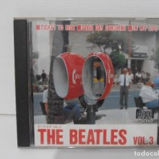 CDs de Música: CD THE BEATLES, VOL 3, TICKET TO RIDE, GOOD DAY SUNSHINE, IN MY LIFE, BAC CO LTD, JAPON. Lote 116705587