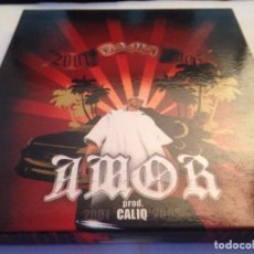 CDs de Música: AMOR YAMA CALIQ-DOBLE CD DIGIPAK. Lote 116705739