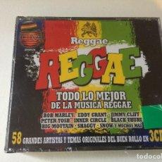 CDs de Música: REGGAE,,LO MEJOR DE LA MUSICA REAGGE,,NUEVO PRECINTADO,,. Lote 116706811