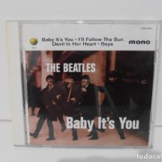 CDs de Música: CD THE BEATLES, BABY IT'S YOU, APPLE, ODEON, JAPON. Lote 116707071