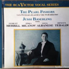 CDs de Música: JUSSI BJOERLING - SELECCION ARIAS CON ROBERT MERRILL - ZINKA MILANOV - LICIA ALBANESE - TEBALDI - CD. Lote 116720011