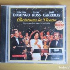 CDs de Música: CHRISTMAS IN VIENA. ORIGINAL. 1993. PLACIDO DOMINGO, DIANA ROSS Y JOSE CARRERAS.. Lote 116742583