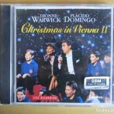 CDs de Música: CHRISTMAS IN VIENNA 2. ORIGINAL. 1994. PLACIDO DOMINGO Y DIONNE WARWICK.. Lote 116742827