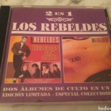 CDs de Música: REBELDES- REBELDES CON CAUSA/ LA ROSA Y LA CRUZ. CD. ROCK ROCKABILLY. Lote 116767439