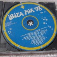 CDs de Música: IBIZA MIX 98 - ANTIGUO CD - ENVIO INCLUIDO A ESPAÑA. Lote 116789403