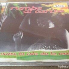 CDs de Música: RUMBO AL CARIBE - CUBA LA ISLA DE LA MUSICA. 2002.. Lote 116823051