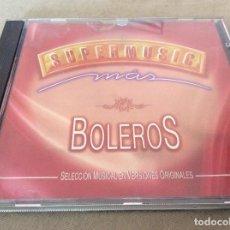 CDs de Música: SUPERMUSIC. MAS BOLEROS. 1997.. Lote 116826643