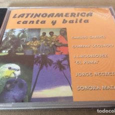 CDs de Música: LATINOAMERICA CANTA Y BAILA. 2001.. Lote 116827535