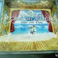 CDs de Música: ECOS DEL ROCIO: TODA UNA VIDA. Lote 116828899