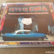 CDs de Música: ESTO ES CUBA. LOS MEJORES AUTORES DE LA MUSICA CUBANA . 200.. Lote 116829595