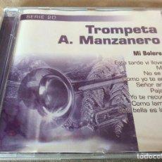CDs de Música: TROMPETA A. MANZANERO. MI BOLERO. 1999.. Lote 116837543