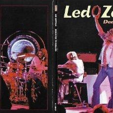CDs de Música: LED ZEPPELIN: DEDICATED TO RIZZLERS. GRABADO EN DIRECTO EN STOKE - ENGLAND, EL 15 DE ENERO DE 1973. Lote 116892039