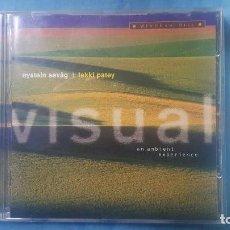 CD de Música: VISUAL, DE OYSTEIN SEVAG Y LAKKI PATEY.. Lote 116899579