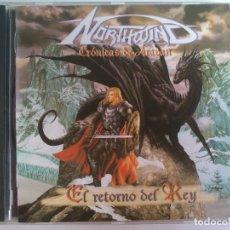CDs de Música: NÖRTHWIND - EL RETORNO DEL REY. Lote 116923587