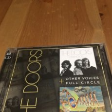 CDs de Música: THE DOORS - FULL CIRCLE / OTHER VOICES - 2 CD. Lote 116959498