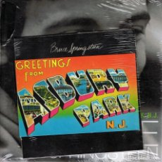 CDs de Música: BRUCE SPRINGSTEEN ¨GREETINGS FROM ASBURY PARK,N.J¨ (LIBRO CD PRECINTADO). Lote 116999187