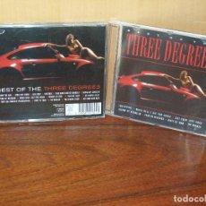 CDs de Música: THREE DEGREES - BEST OF - CD . Lote 117020419