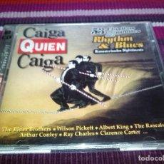 CDs de Música: CAIGA QUIEN CAIGA 53 CLÁSICOS ORIGINALES DEL RHYTHM&BLUES BLUES BROTHERS WILSSON PICKET RASCALS..... Lote 117034407