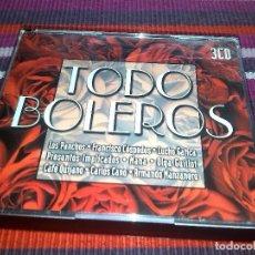 CDs de Música: TODO BOLEROS 3 CDS LOS PANCHOS, MANÁ ARMANDO MANZANERO CAFE QUIJANO MANOLO TENA LINDA ROSTANDT. Lote 117037999