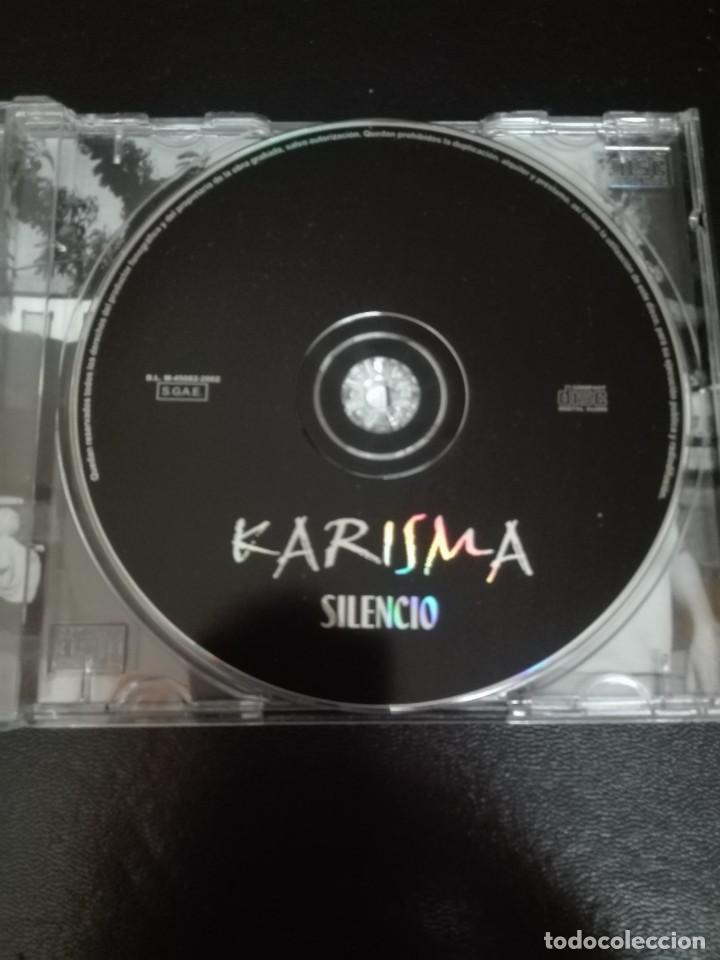 CDs de Música: Karisma -Silencio Makmen Isra Makei Hijos Tercera Ola - Foto 2 - 117100207