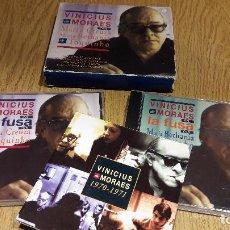 CDs de Música: VINICIUS DE MORAES CON MARIA CREUZA, MARIA BETHANIA Y TTOQUINHO / PAC DOS CDS / LUJO.. Lote 117184699
