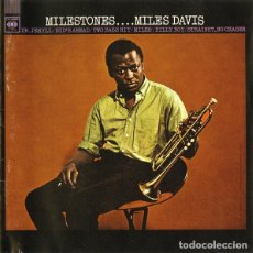 CDs de Música: MILES DAVIS -- MILESTONES JAZZ. Lote 117238279