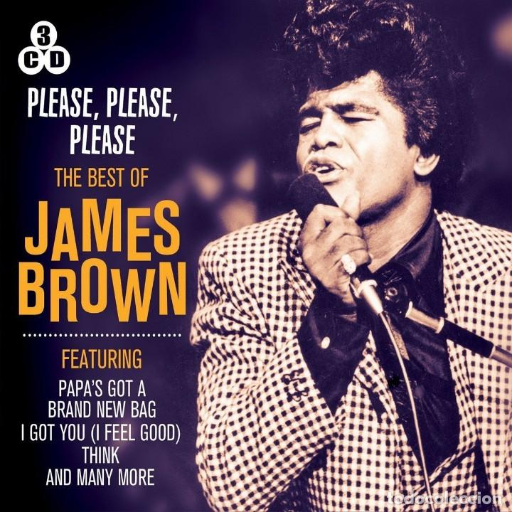 PLEASE, PLEASE, PLEASE * 3CD *THE BEST OF JAMES BROWN (BOX SET) * LTD FUNDA DE CARTÓN * PRECINTADO!! (Música - CD's Jazz, Blues, Soul y Gospel)