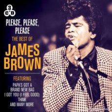 CDs de Música: PLEASE, PLEASE, PLEASE * 3CD *THE BEST OF JAMES BROWN (BOX SET) * LTD FUNDA DE CARTÓN * PRECINTADO!!. Lote 117252619