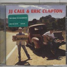 CDs de Música: JJ CALE & ERIC CLAPTON. THE ROAD TO ESCONDIDO. CD. Lote 117269619
