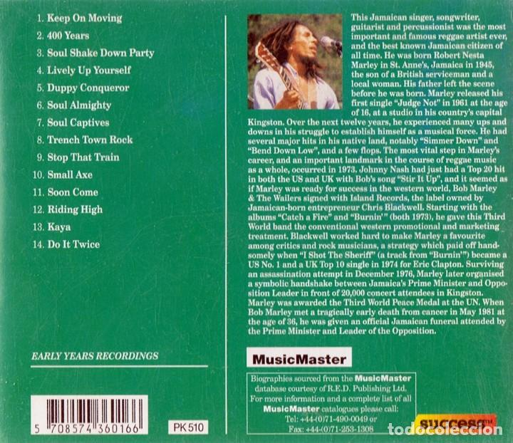 CDs de Música: BOB MARLEY ¨KEEP ON MOVING¨ (CD) - Foto 2 - 117287387