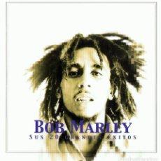 CDs de Música: BOB MARLEY SUS 20 GRANDES ÉXITOS (CD). Lote 117288275