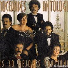CDs de Música: MOCEDADS ANTOLOGIA ( 2 CD). Lote 117289575