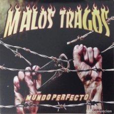 CDs de Música: MALOS TRAGOS CD MUNDO PERFECTO. Lote 117293459