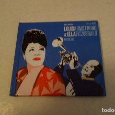 CDs de Música: LOUIS ARMSTRONG & ELL FITZGERALD. LO MEJOR. Lote 117313395