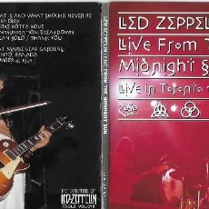 CDs de Música: LED ZEPPELIN: LIVE FROM THE MIDNIGHT SUN, LIVE IN TORONTO 1971. GRABADO EN DIRECTO. Lote 117339715