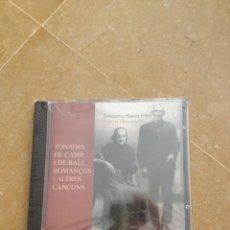 CDs de Música: TONADES DE CAMP I DE BALL. ROMANÇOS I ALTRES CANÇONS (S'ALQUERIA BLANCA N'ERA) PRECINTADO. Lote 117363075