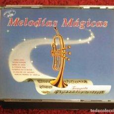 CDs de Música: MELODIAS MAGICAS (TROMPETA) 2 CD'S 1991 * DIFICIL EN CD. Lote 117369819