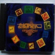 CDs de Música: SKANDA. CD DISCOS L'AGUAÑAZ CDÑAZ114. ESPAÑA 1998. FOLK ROCK. MIERES. ASTURIAS.. Lote 117369827