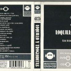 CDs de Música: LOQUILLO Y TROGLODITAS CD + DVD DIGIPACK UNA BANDA DE ROCK & ROLL ESPAÑOL 2004 /2. Lote 117392587
