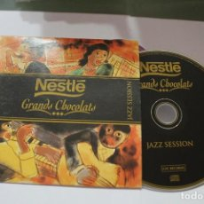 CDs de Música: CD JAZZ SESSION NESTLE GRANDS CHOCOLATS. Lote 117392859